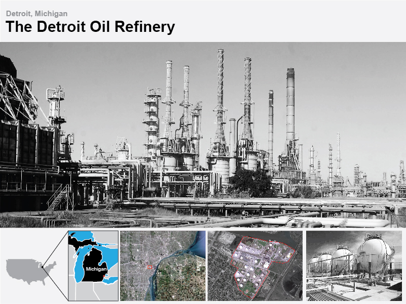 The Detroit Refinery will be the site of the Silo House...
