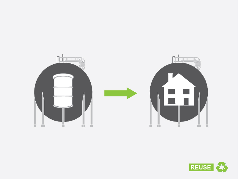 We must transform Oil Silos into Homes!
